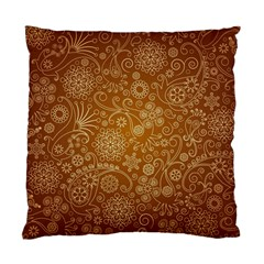 Batik Art Pattern Standard Cushion Case (one Side)