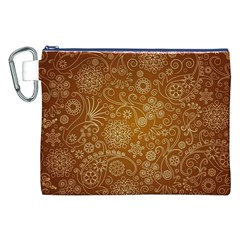 Batik Art Pattern Canvas Cosmetic Bag (xxl)