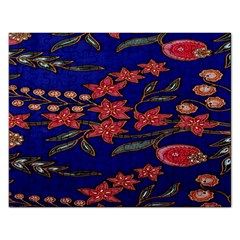 Batik  Fabric Rectangular Jigsaw Puzzl
