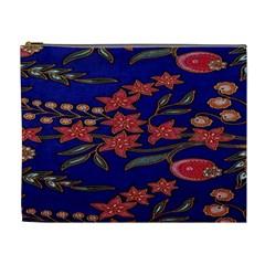 Batik  Fabric Cosmetic Bag (xl)