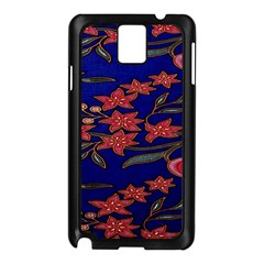 Batik  Fabric Samsung Galaxy Note 3 N9005 Case (black)