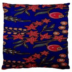 Batik  Fabric Standard Flano Cushion Case (two Sides)