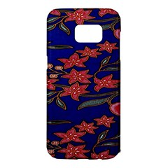 Batik  Fabric Samsung Galaxy S7 Edge Hardshell Case