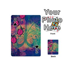 Background Colorful Bugs Playing Cards 54 (mini)