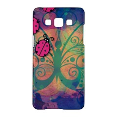 Background Colorful Bugs Samsung Galaxy A5 Hardshell Case