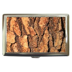 Bark Texture Wood Large Rough Red Wood Outside California Cigarette Money Cases
