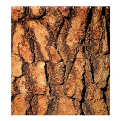 Bark Texture Wood Large Rough Red Wood Outside California Shower Curtain 66  X 72  (large)