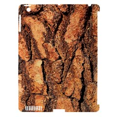 Bark Texture Wood Large Rough Red Wood Outside California Apple Ipad 3/4 Hardshell Case (compatible With Smart Cover)