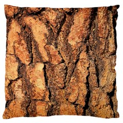 Bark Texture Wood Large Rough Red Wood Outside California Large Cushion Case (one Side)