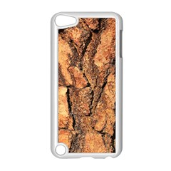 Bark Texture Wood Large Rough Red Wood Outside California Apple Ipod Touch 5 Case (white)