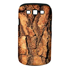 Bark Texture Wood Large Rough Red Wood Outside California Samsung Galaxy S Iii Classic Hardshell Case (pc+silicone)
