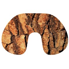 Bark Texture Wood Large Rough Red Wood Outside California Travel Neck Pillows