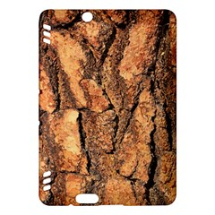 Bark Texture Wood Large Rough Red Wood Outside California Kindle Fire Hdx Hardshell Case