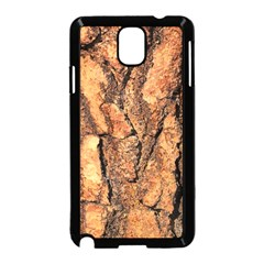 Bark Texture Wood Large Rough Red Wood Outside California Samsung Galaxy Note 3 Neo Hardshell Case (black)