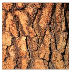 Bark Texture Wood Large Rough Red Wood Outside California Large Satin Scarf (square)