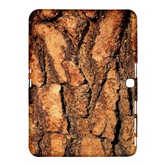 Bark Texture Wood Large Rough Red Wood Outside California Samsung Galaxy Tab 4 (10 1 ) Hardshell Case
