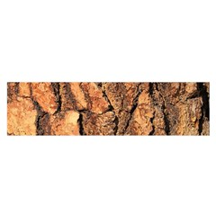 Bark Texture Wood Large Rough Red Wood Outside California Satin Scarf (oblong)