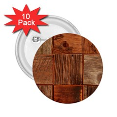 Barnwood Unfinished 2 25  Buttons (10 Pack)