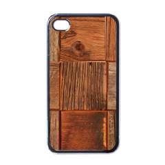 Barnwood Unfinished Apple Iphone 4 Case (black)