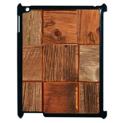 Barnwood Unfinished Apple Ipad 2 Case (black)