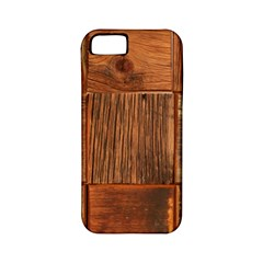 Barnwood Unfinished Apple Iphone 5 Classic Hardshell Case (pc+silicone)