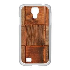 Barnwood Unfinished Samsung Galaxy S4 I9500/ I9505 Case (white)