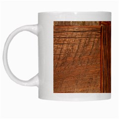 Barnwood Unfinished White Mugs