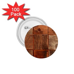 Barnwood Unfinished 1 75  Buttons (100 Pack)