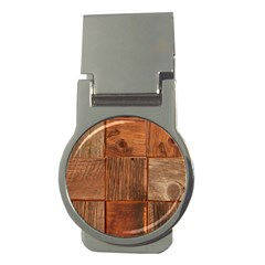 Barnwood Unfinished Money Clips (round)
