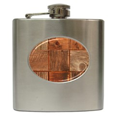 Barnwood Unfinished Hip Flask (6 Oz)
