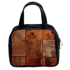 Barnwood Unfinished Classic Handbags (2 Sides)