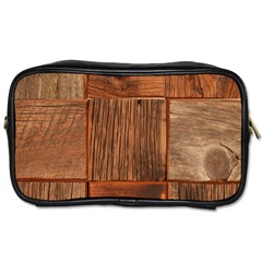 Barnwood Unfinished Toiletries Bags 2 Side
