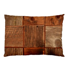 Barnwood Unfinished Pillow Case (two Sides)