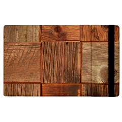 Barnwood Unfinished Apple Ipad 3/4 Flip Case