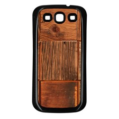 Barnwood Unfinished Samsung Galaxy S3 Back Case (black)