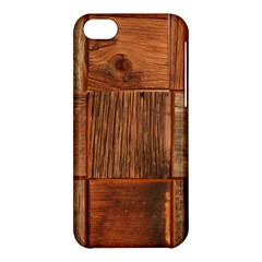 Barnwood Unfinished Apple Iphone 5c Hardshell Case