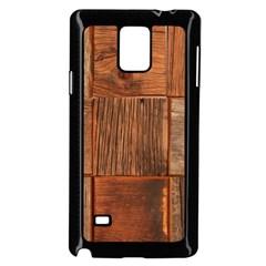 Barnwood Unfinished Samsung Galaxy Note 4 Case (black)