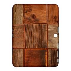 Barnwood Unfinished Samsung Galaxy Tab 4 (10 1 ) Hardshell Case