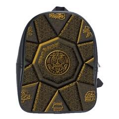 Aztec Runes School Bags(large)