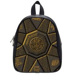 Aztec Runes School Bags (small)