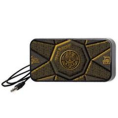 Aztec Runes Portable Speaker (black)