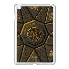 Aztec Runes Apple Ipad Mini Case (white)