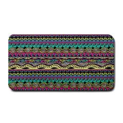 Aztec Pattern Cool Colors Medium Bar Mats
