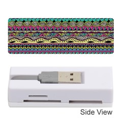 Aztec Pattern Cool Colors Memory Card Reader (stick)