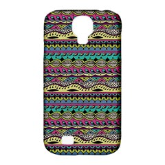 Aztec Pattern Cool Colors Samsung Galaxy S4 Classic Hardshell Case (pc+silicone)