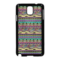 Aztec Pattern Cool Colors Samsung Galaxy Note 3 Neo Hardshell Case (black)