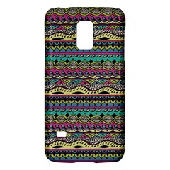 Aztec Pattern Cool Colors Galaxy S5 Mini