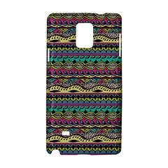Aztec Pattern Cool Colors Samsung Galaxy Note 4 Hardshell Case