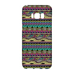Aztec Pattern Cool Colors Samsung Galaxy S8 Hardshell Case