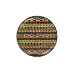 Aztec Pattern Ethnic Hat Clip Ball Marker (4 Pack)